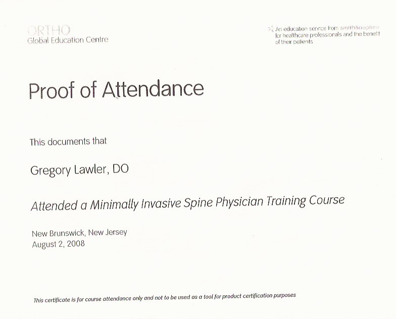 Min Invasive Spine Training 8_2008