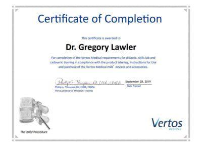 Mild Certificate